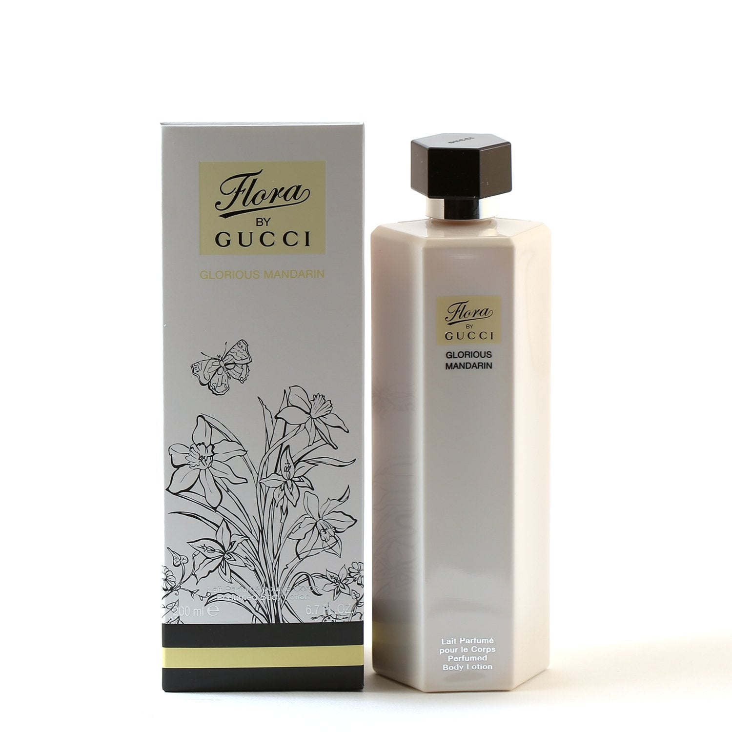 Perfume - GUCCI FLORA MANDARIN FOR WOMEN - BODY LOTION, 6.7 OZ