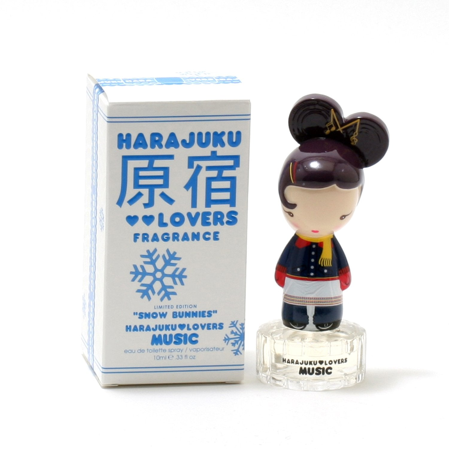 Perfume - HARAJUKU SNOW BUNNIES MUSIC FOR WOMEN - EAU DE TOILETTE SPRAY, 0.33 OZ