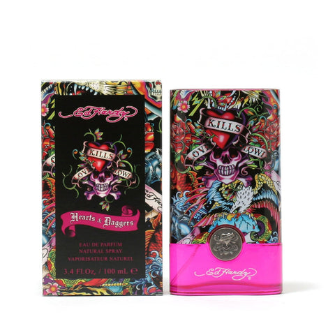 Perfume - HEARTS AND DAGGERS BY ED HARDY FOR WOMEN - EAU DE PARFUM SPRAY