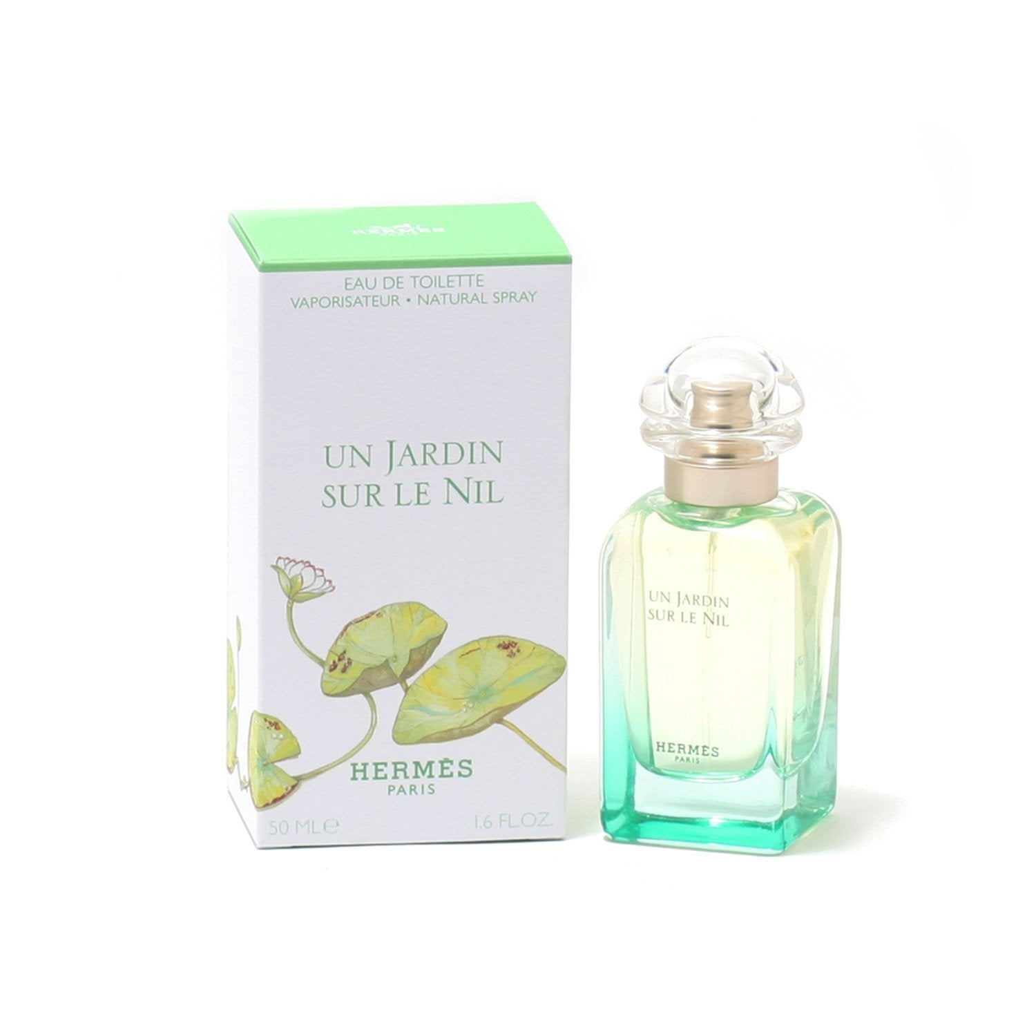 Perfume - HERMES UN JARDIN SUR LE NIL FOR WOMEN - EAU DE TOILETTE SPRAY
