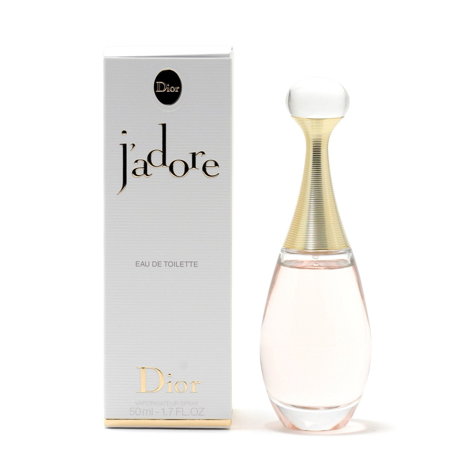 Perfume - J'ADORE FOR WOMEN BY CHRISTIAN DIOR - EAU DE TOILETTE SPRAY