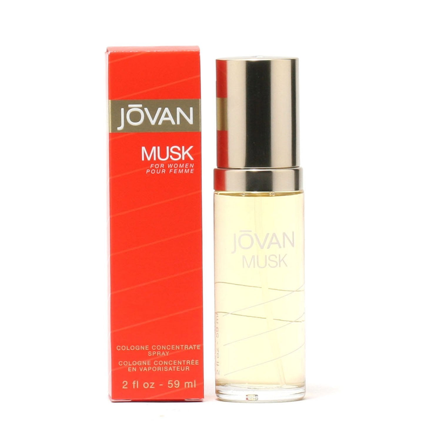 Perfume - JOVAN MUSK FOR WOMEN - COLOGNE SPRAY
