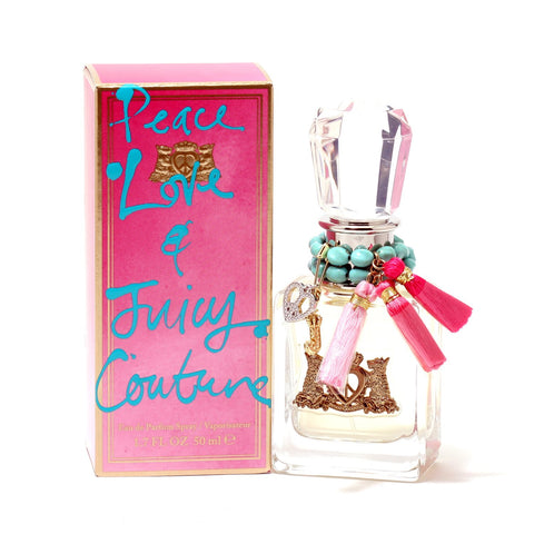 Perfume - JUICY COUTURE PEACE LOVE & JUICY COUTURE FOR WOMEN - EAU DE PARFUM SPRAY