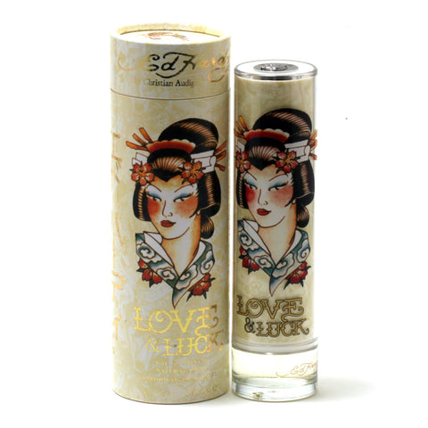 Perfume - LOVE & LUCK FOR WOMEN BY ED HARDY - EAU DE PARFUM SPRAY, 3.4 OZ