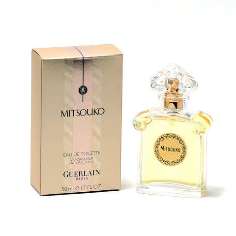 Perfume - MITSOUKO FOR WOMEN BY GUERLAIN - EAU DE TOILETTE SPRAY, 1.7 OZ