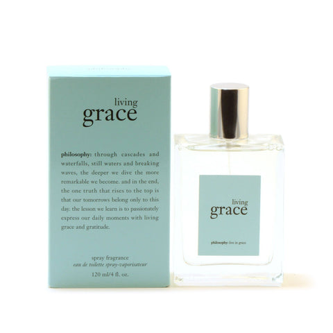 Perfume - PHILOSOPHY LIVING GRACE FOR WOMEN - EAU DE TOILETTE SPRAY, 4.0 OZ