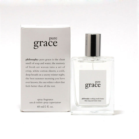 Perfume - PHILOSOPHY PURE GRACE FOR WOMEN - EAU DE TOILETTE SPRAY, 2.0 OZ