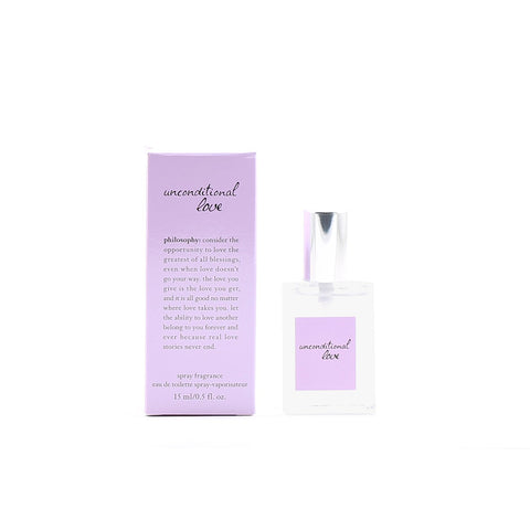 Perfume - PHILOSOPHY UNCONDITIONAL LOVE FOR WOMEN - EAU DE TOILETTE SPRAY, 0.5 OZ