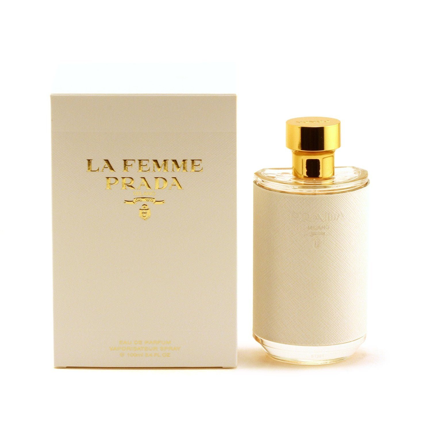 Perfume - PRADA LA FEMME FOR WOMEN - EAU DE PARFUM SPRAY, 3.4 OZ