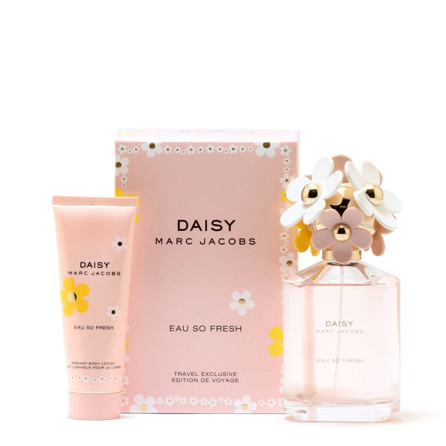 Perfume Sets - DAISY EAU SO FRESH FOR WOMEN BY MARC JACOBS - TRAVEL EDITION GIFT SET