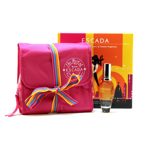 Perfume Sets - ESCADA ROCKIN RIO FOR WOMEN - GIFT SET