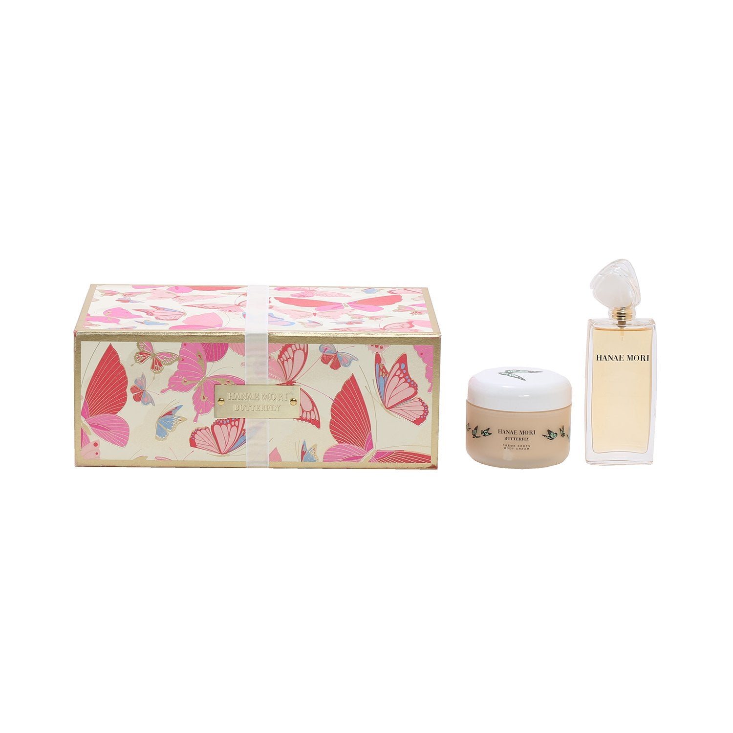 Perfume Sets - HANAE MORI BUTTERFLY FOR WOMEN  - GIFT SET