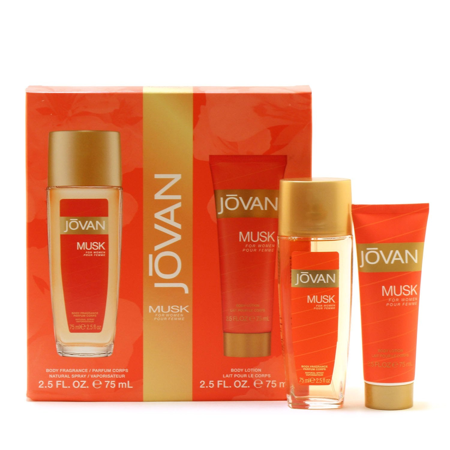 Perfume Sets - JOVAN MUSK FOR WOMEN - TRAVEL GIFT SET