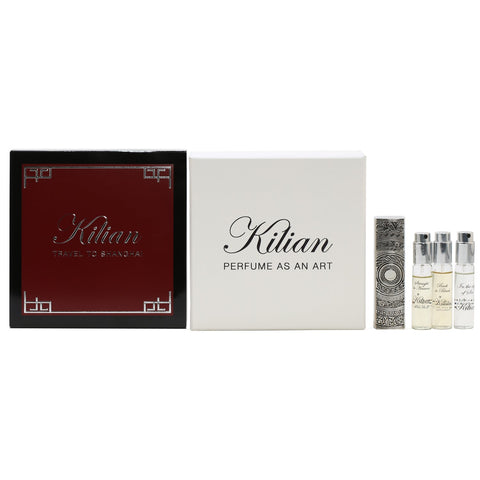Perfume Sets - KILIAN TRAVEL TO SHANGHAI WOODSY HARMONY FOR WOMEN - DISCOVERY SET