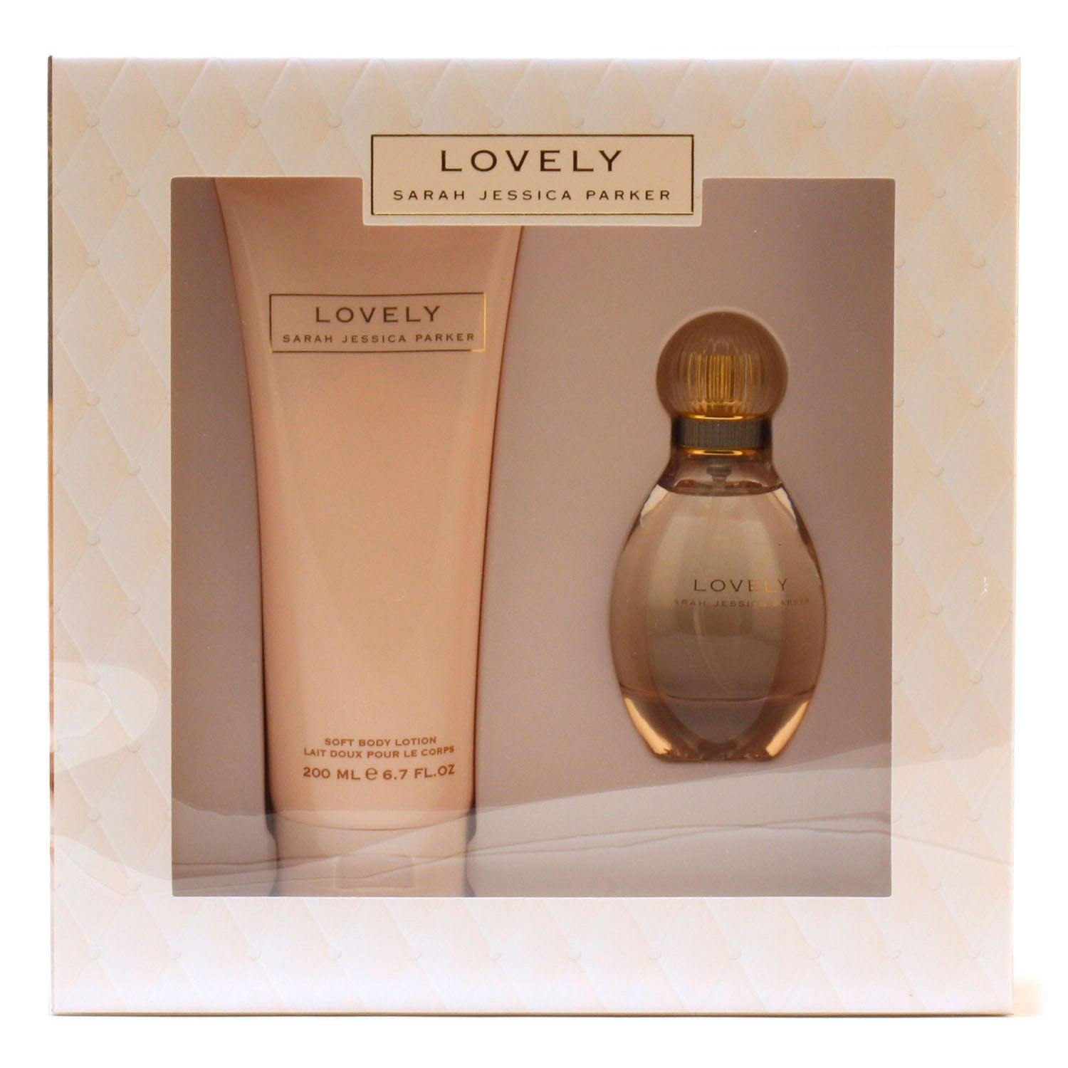 Perfume Sets - LOVELY FOR WOMEN BY SARAH JESSICA PARKER - PARFUM AND LOTION GIFT SET