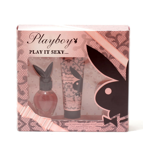 Perfume Sets - PLAYBOY PLAY IT SEXY FOR WOMEN - GIFT SET