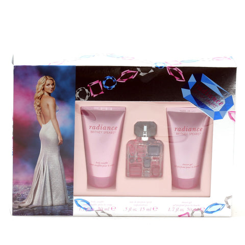 Perfume Sets - RADIANCE FOR WOMEN BY BRITNEY SPEARS - GIFT SET