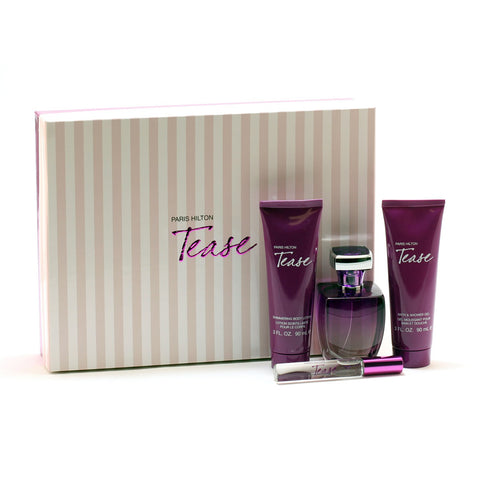 Perfume Sets - TEASE FOR WOMEN BY PARIS HILTON - GIFT SET