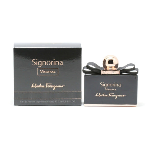 Perfume - SIGNORINA MISTERIOSA FOR WOMEN BY SALVATORE FERRAGAMO - EAU DE PARFUM SPRAY, 3.4 OZ
