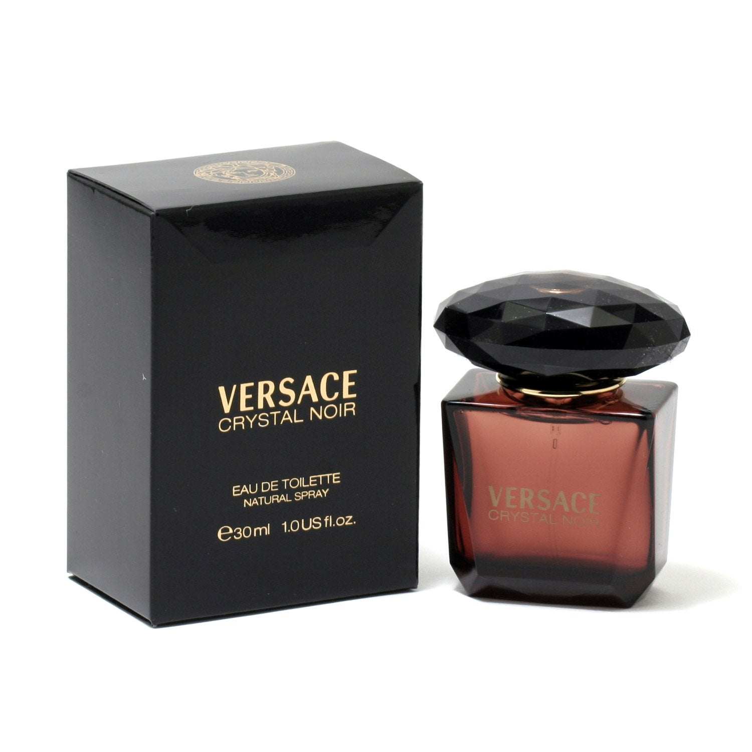 Perfume - VERSACE CRYSTAL NOIR FOR WOMEN - EAU DE TOILETTE SPRAY