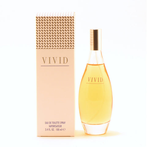 Perfume - VIVID FOR WOMEN BY LIZ CLAIBORNE - EAU DE TOILETTE SPRAY, 3.4 OZ