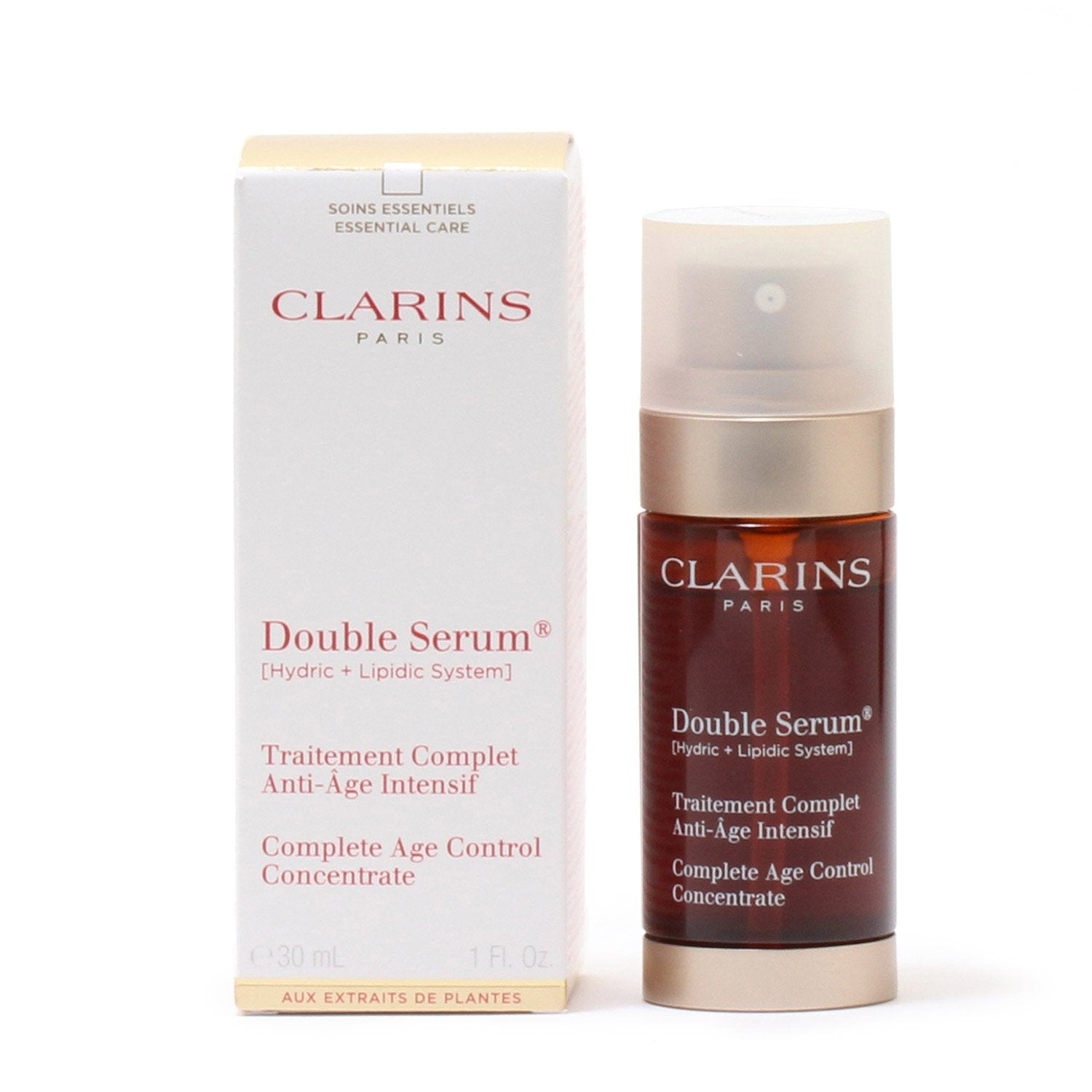 Skin Care - CLARINS DOUBLE SERUM COMPLETE AGE CONTROL CONCENTRATE, 1.0 OZ