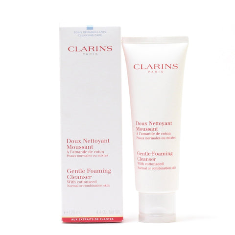 Skin Care - CLARINS GENTLE FOAMING CLEANSER WITH COTTONSEED FOR NORMAL TO COMBINATION SKIN, 4.4 OZ