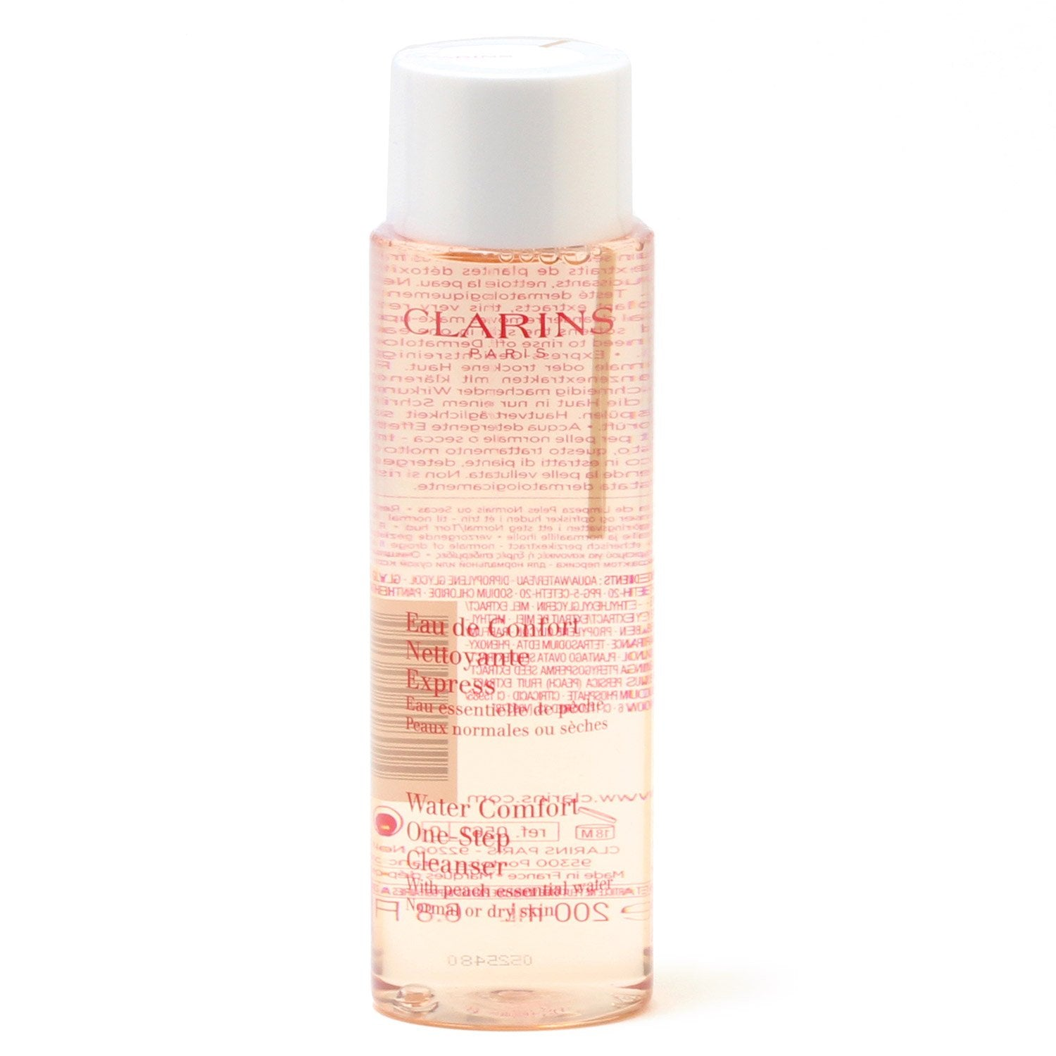Skin Care - CLARINS WATER COMFORT ONE-STEP CLEANSER WITH PEACH ESSENTIAL WATER, 6.8 OZ