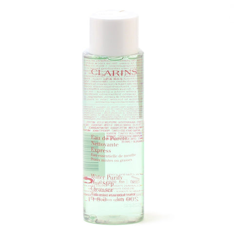 Skin Care - CLARINS WATER-PURIFY ONE-STEP CLEANSER WITH MINT ESSENTIAL WATER, 6.8 OZ