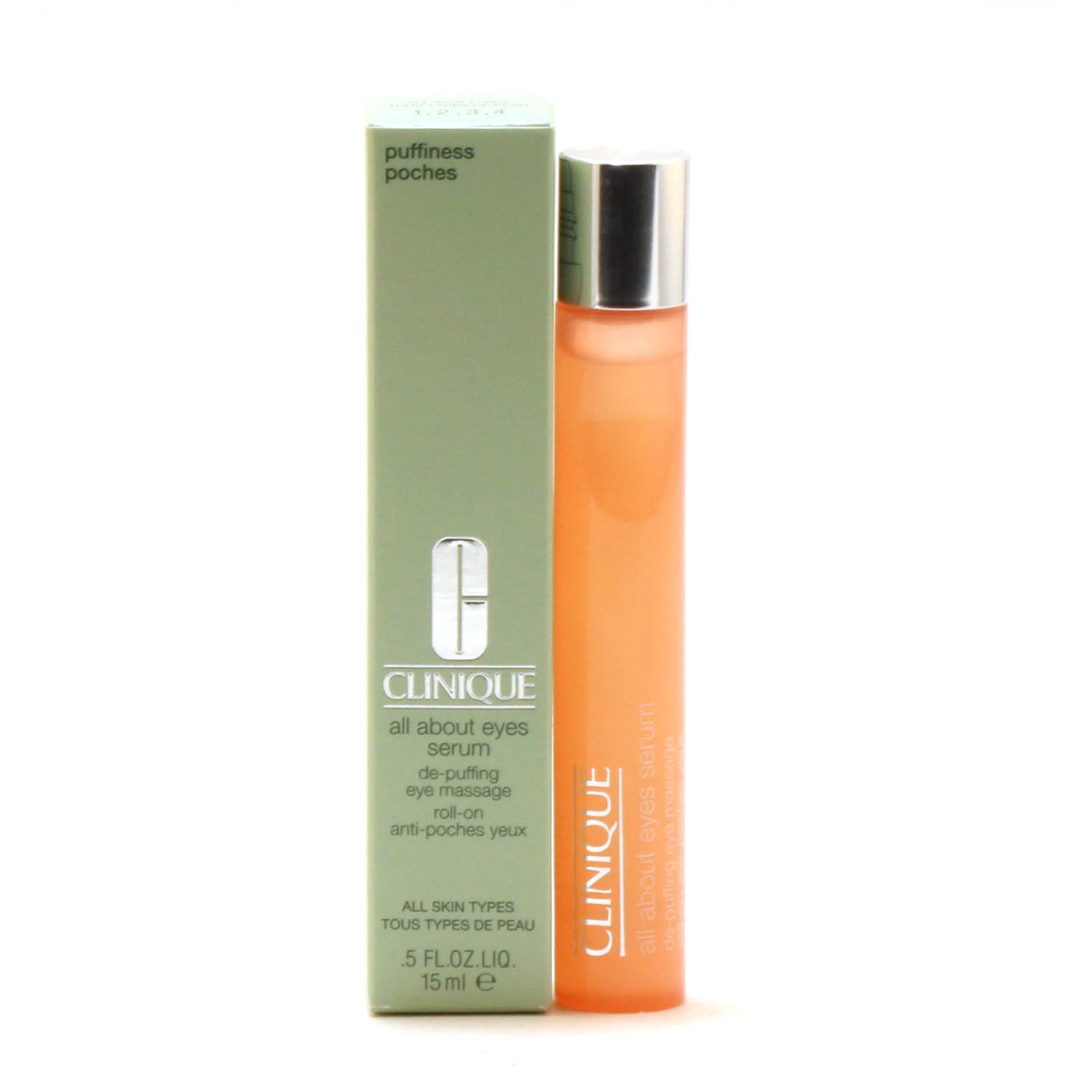 Skin Care - CLINIQUE ALL ABOUT EYES SERUM, 0.5 OZ