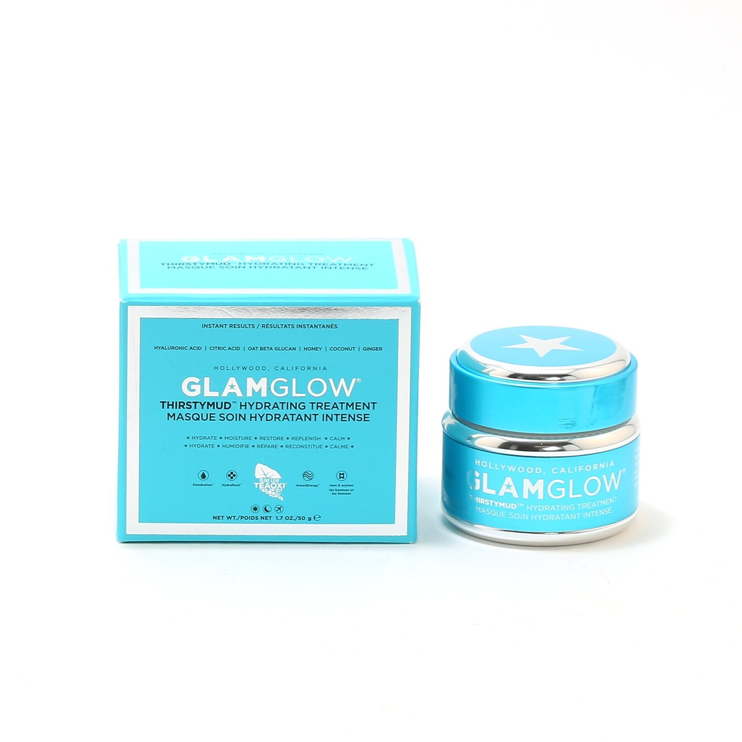 Skin Care - GLAMGLOW THIRSTYMUD HYDRATING TREATMENT BLUE