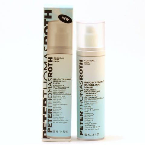 Skin Care - PETER THOMAS ROTH BRIGHTENING BUBBLING MASK RADIANCE OXYGENATING TREATMENT, 3.4 OZ