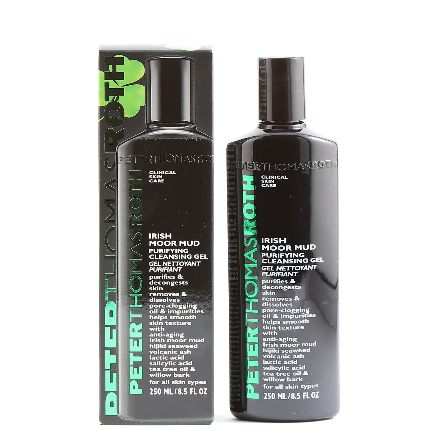 Skin Care - PETER THOMAS ROTH IRISH MOOR MUD PURIFYING CLEANSING GEL, 8.5 OZ