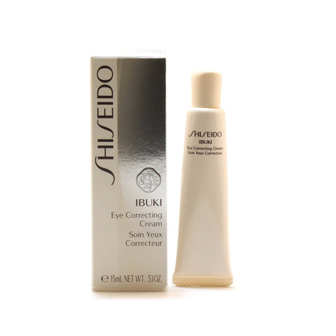 Skin Care - SHISEIDO IBUKI EYE CORRECTING CREAM, 0.5 OZ