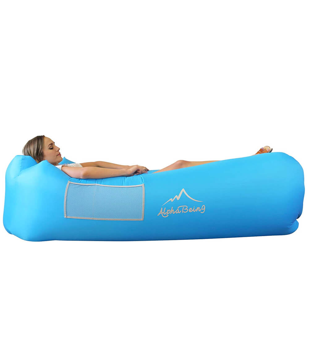 AplhaBeing Inflatable Lounger Beach Chair