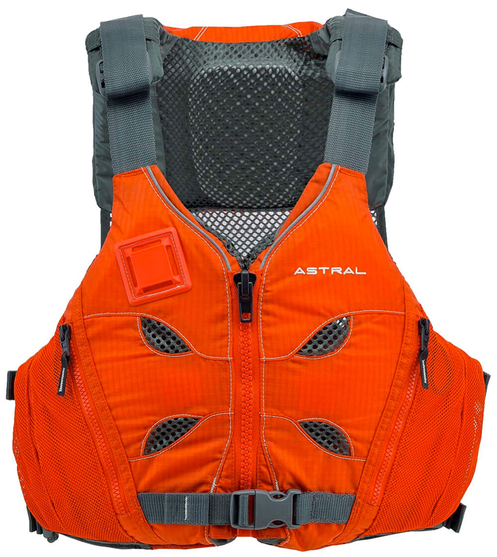 Red Astral V-eight multi sports life vest