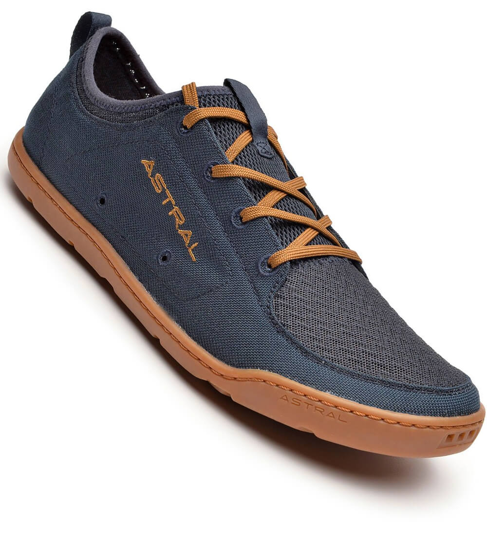 Navy brown high friction non marking rubber sole