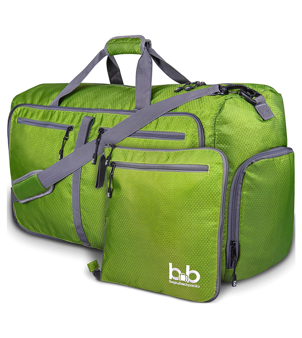 BB Extra large duffel bag with pockets