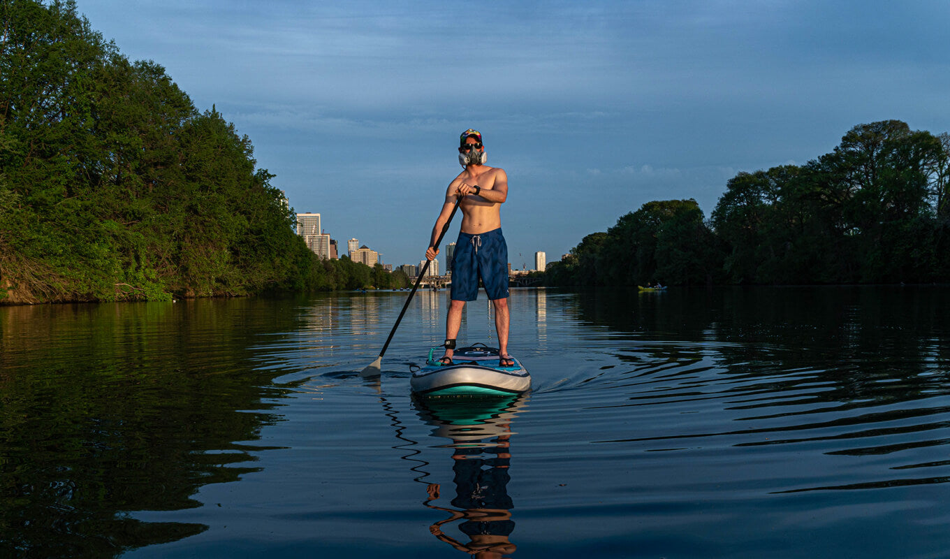 Benefits of paddle boarding to your health