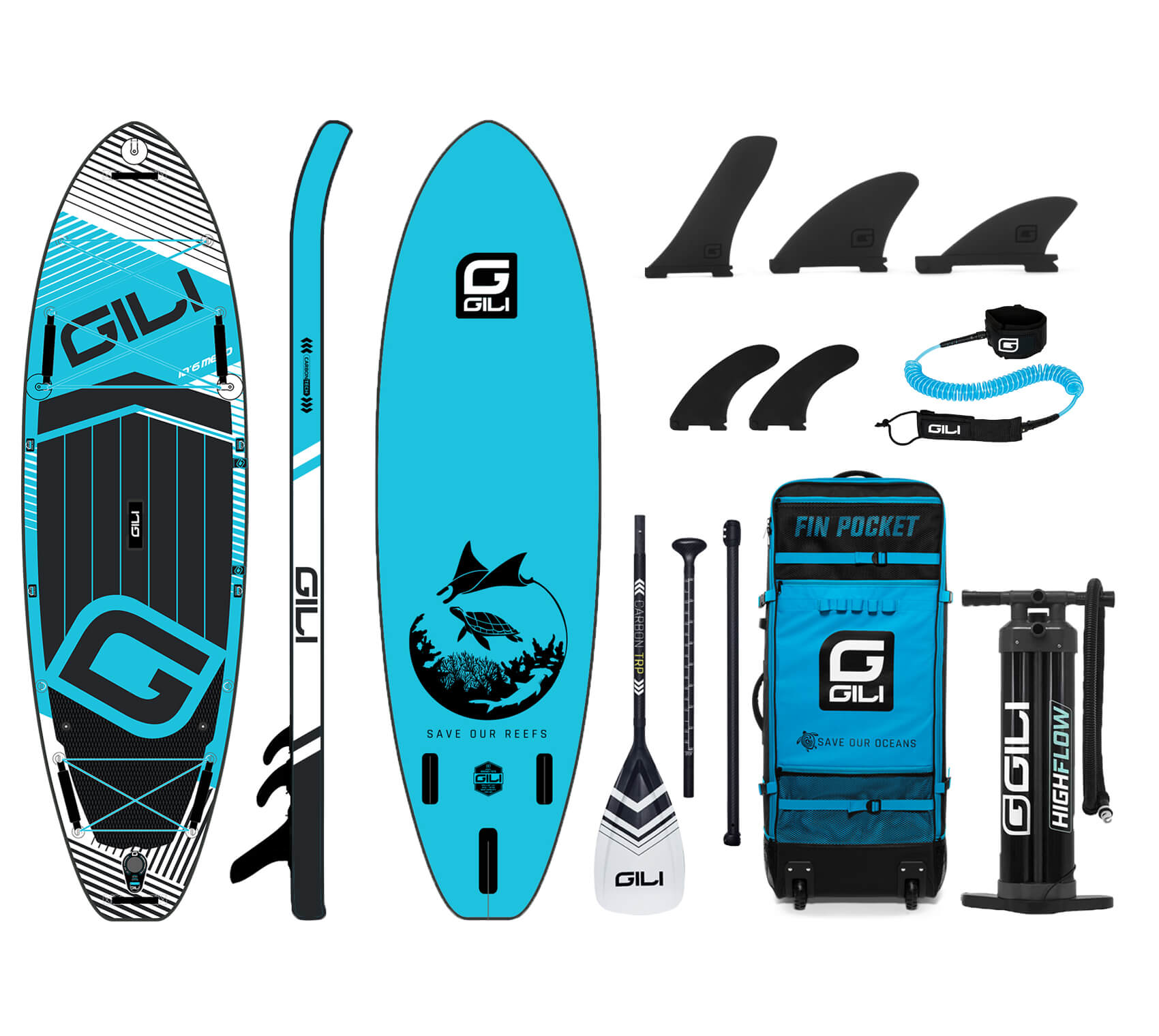 Best Inflatable SUP board Package