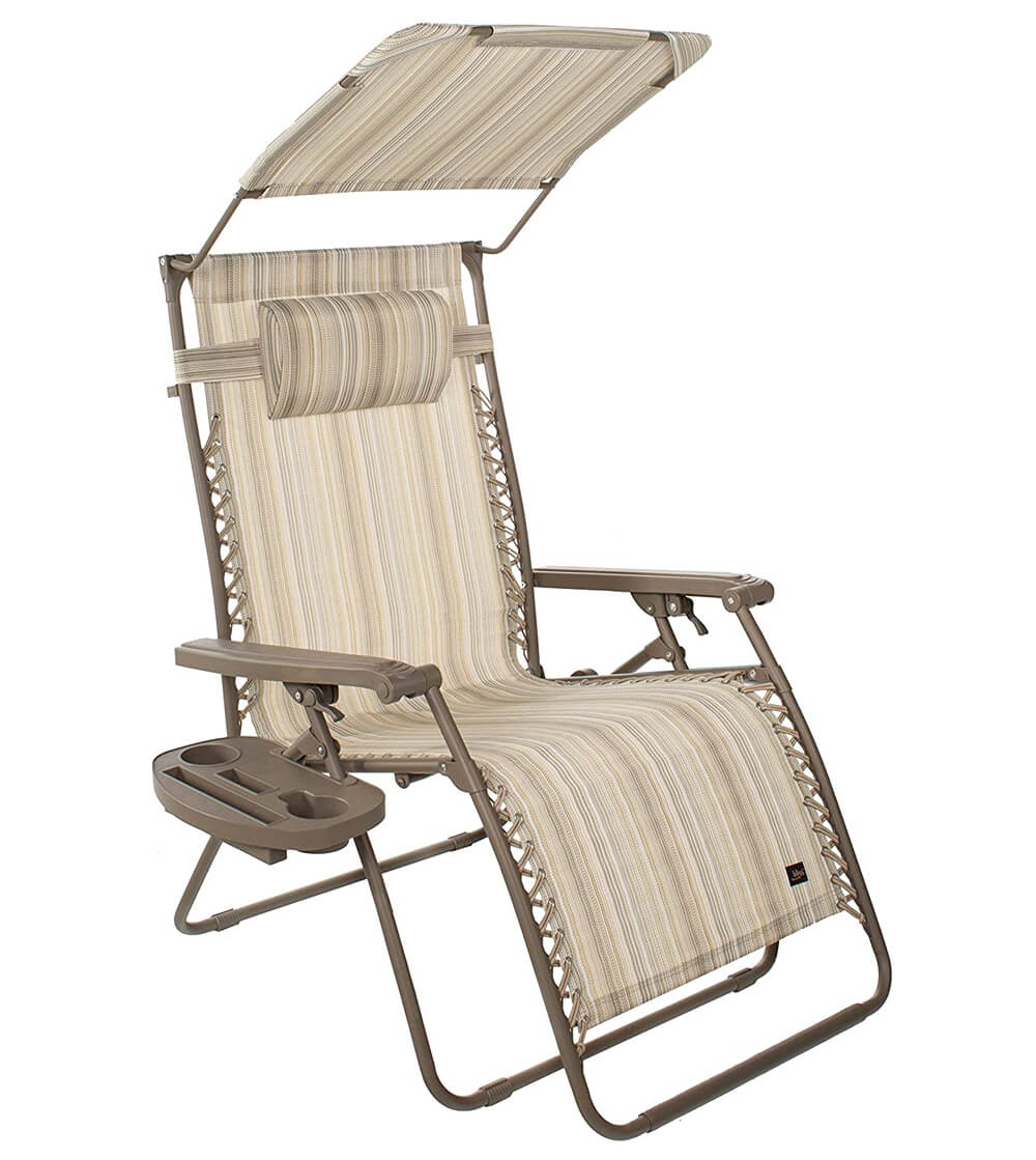 Bliss Hammock Zero Gravity Beach Chair with Canopy