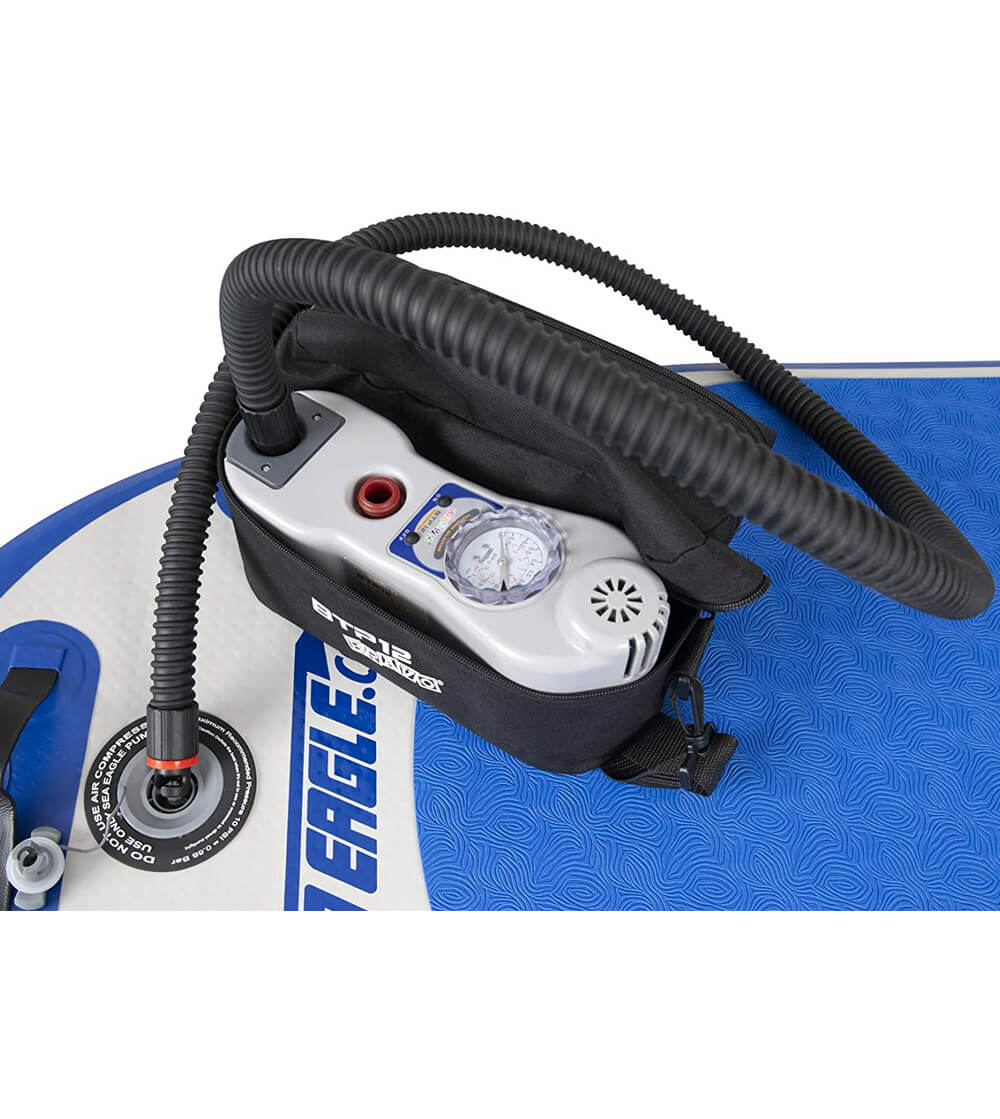 Sea eagle bravo two stage high speed electric pump