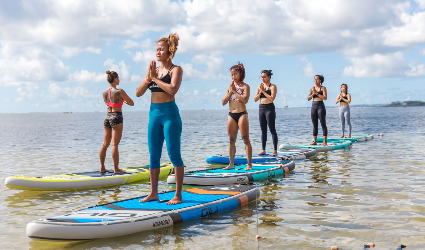 Ideal best paddle board for yoga