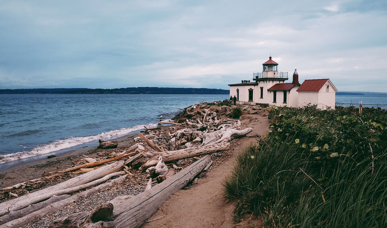 Lighthouse at Discovery Park WA