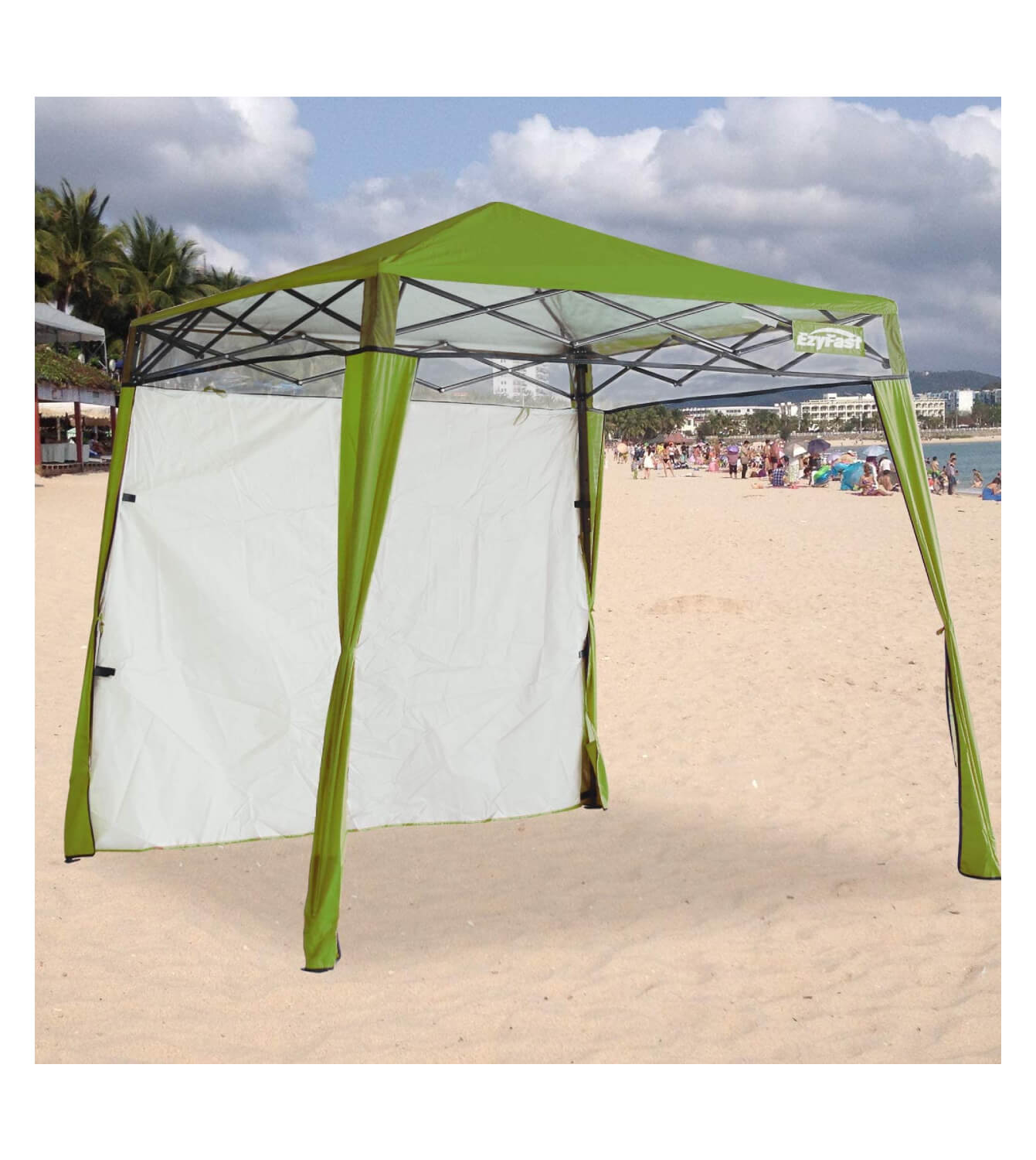 EzyFast Elegant Pop Up Beach Shelter, Compact Instant Canopy Tent