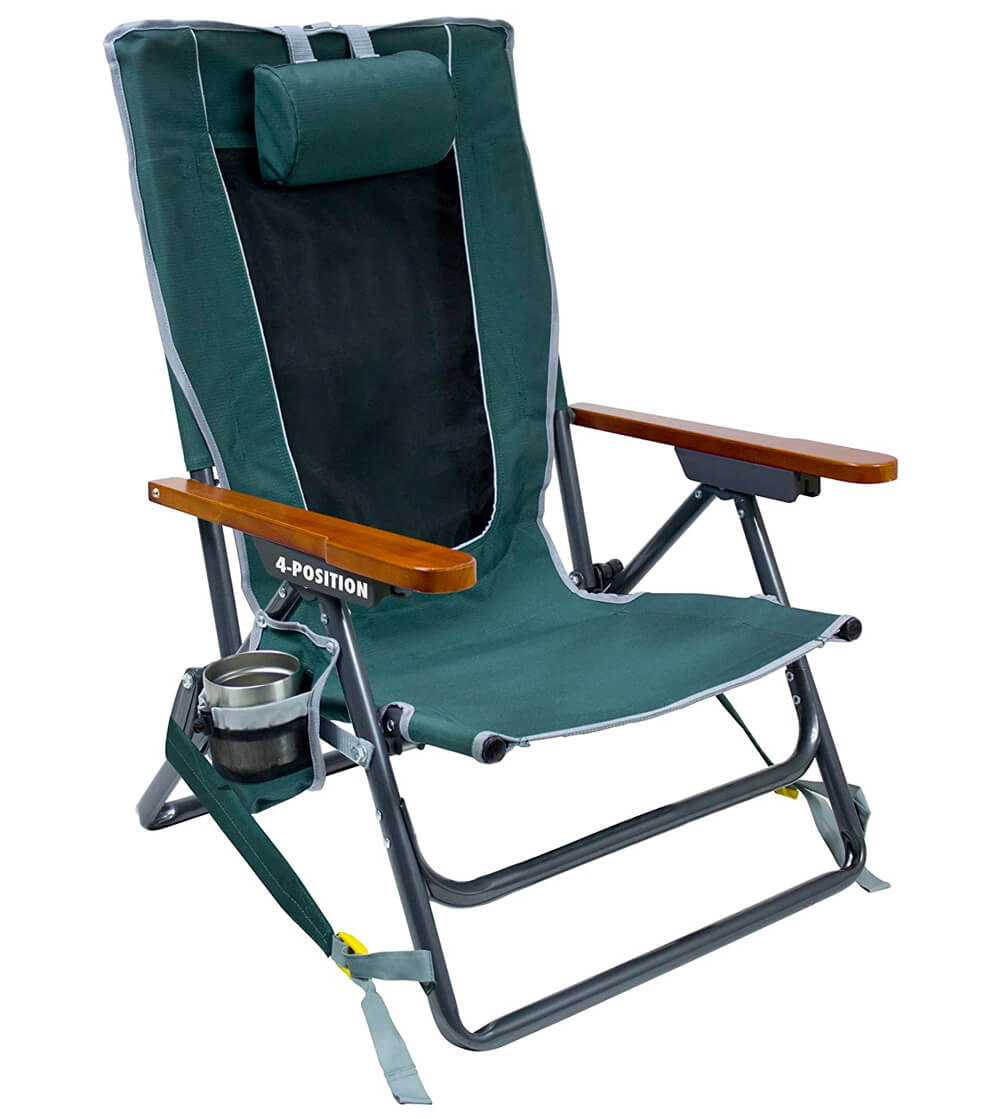 GCI Outdoor Reclining Portable Backpack Chair