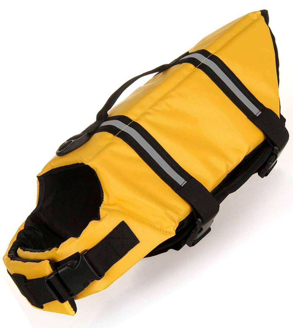 Most colorful haocoo life jacket for small dogs