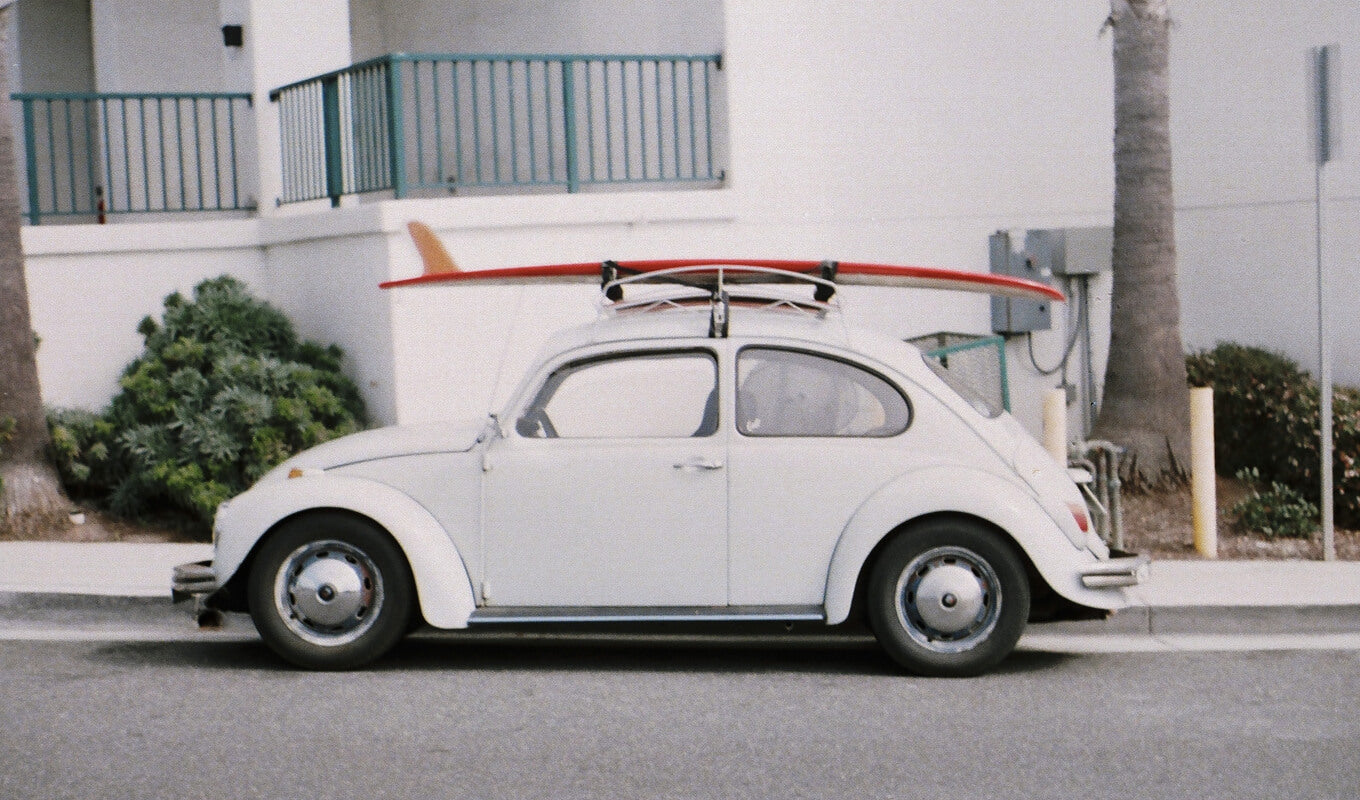 Safely transport stand up paddle board on a roof rack
