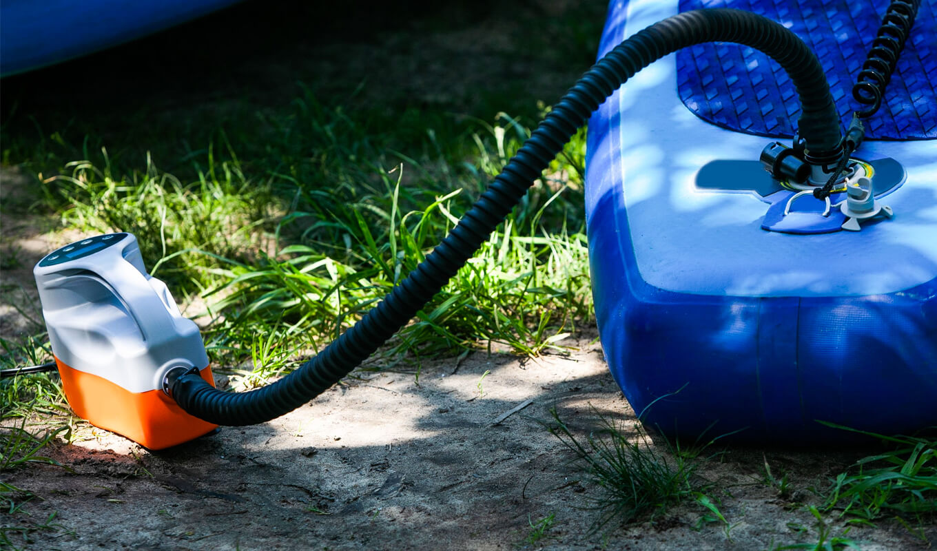 Safety tips for using electric SUP pumps