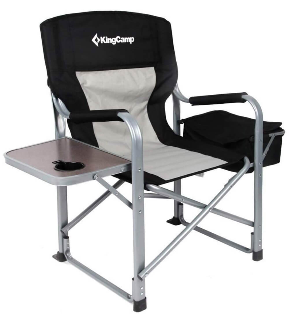 Kingcamp Heavy Duty Steel Camping Folding Chair